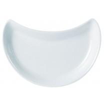 Porcelite Crescent Salad Dish