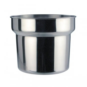 Stainless Steel Bain Marie Pot & Lid