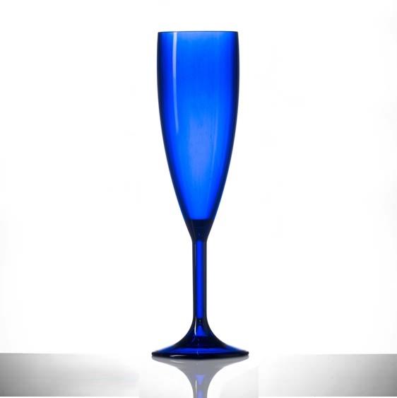 Red & Blue Plastic Glasses