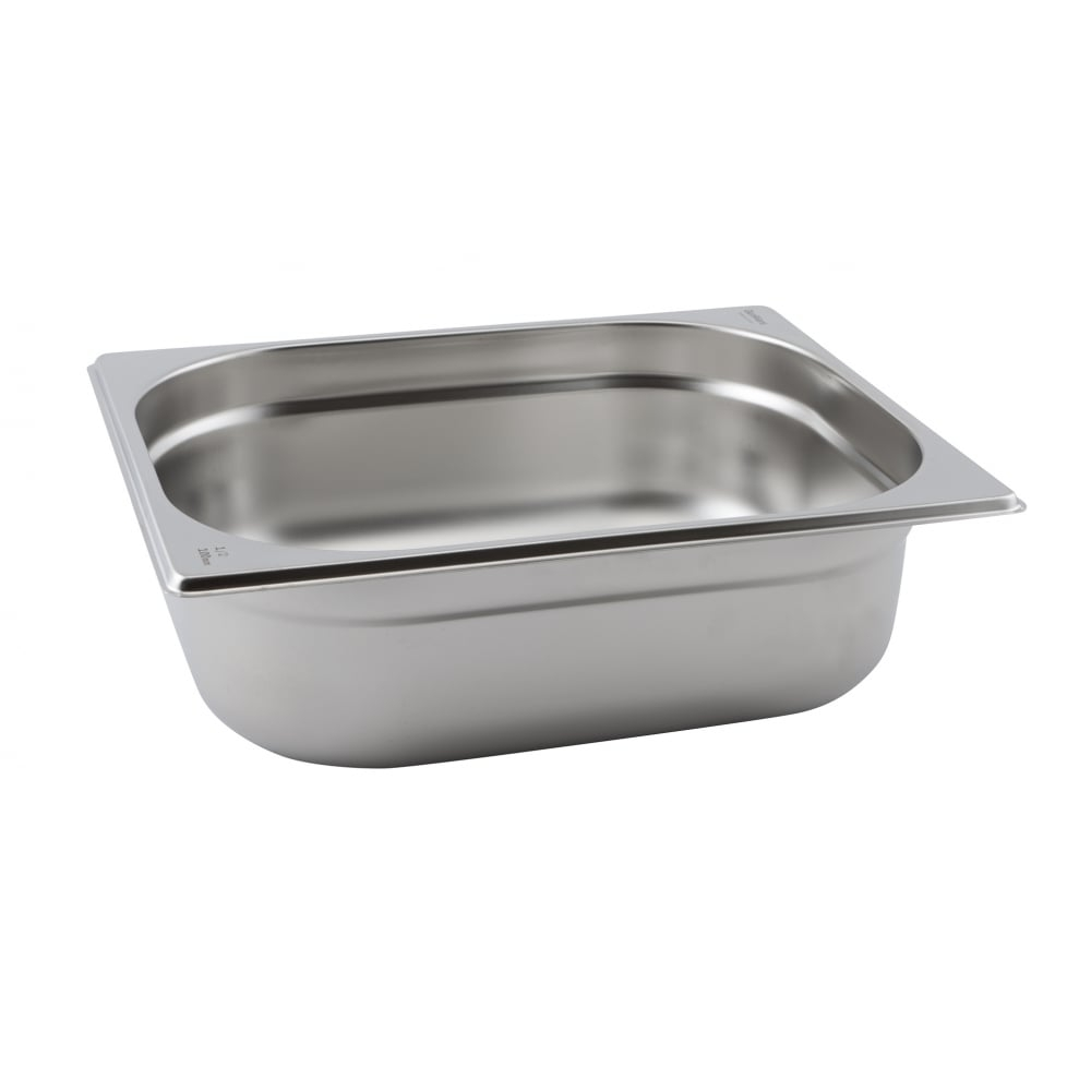 Stainless Steel Gastronorm Pans GN 1/2