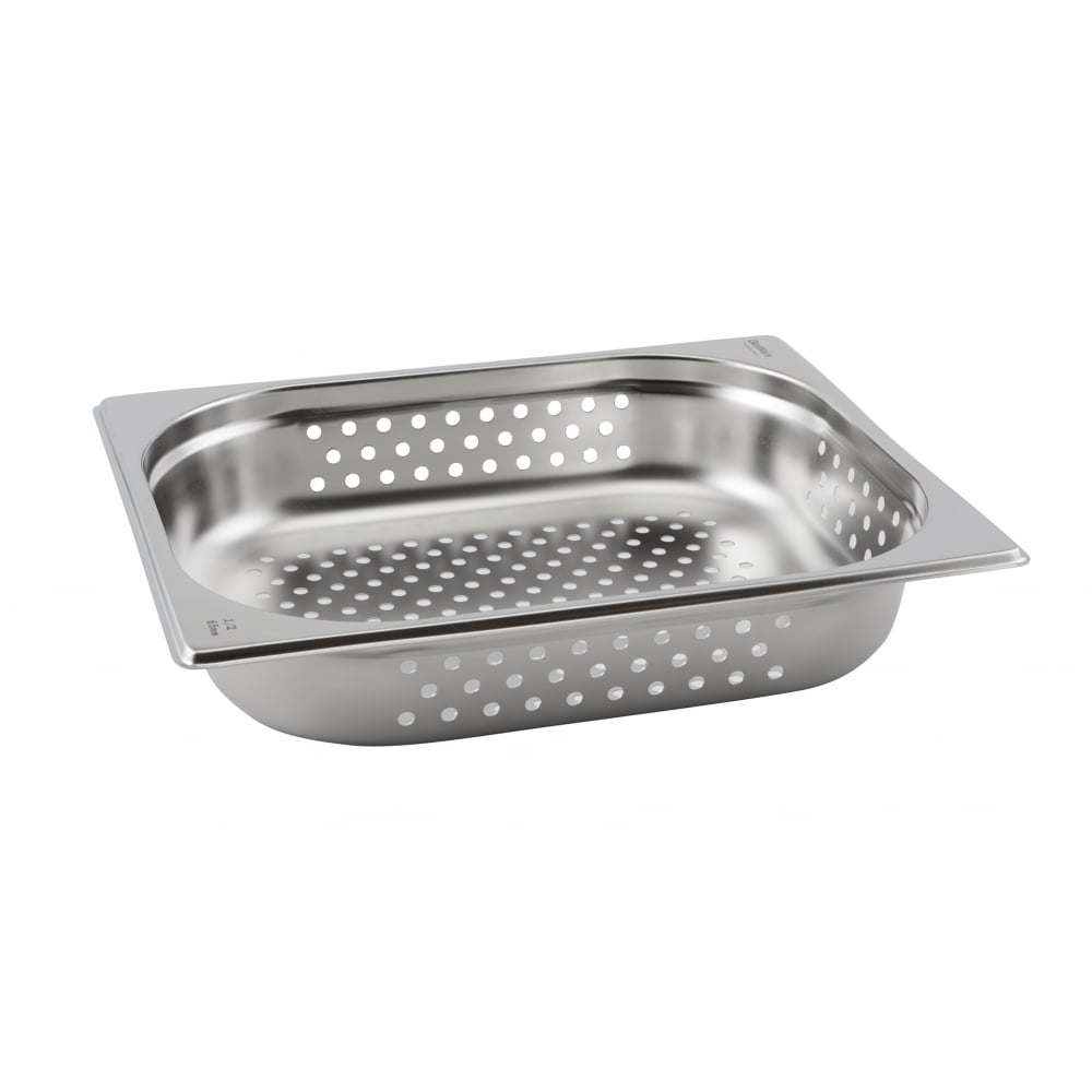 Stainless Steel Perforated Gastronorm Pans GN 1/2