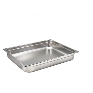 Stainless Steel Gastronorm Pans GN 2/1