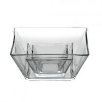 Tempo Square Glass Bowls