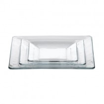 Tempo Glass Square Plates