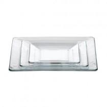 Tempo Glass Square Plates