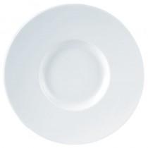 Porcelite Wide Rimmed Gourmet Plates
