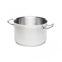 Genware Stainless Steel Casserole Pans