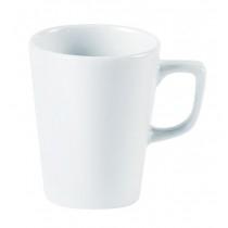 Porcelite Latte Mugs & Saucers