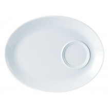 Porcelite Oval Gourmet Plate