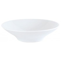 Porcelite Footed Wok Bowl