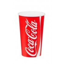 Coca Cola Paper Cold Cups