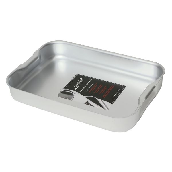 Genware Aluminium Baking Dishes with Handles