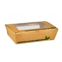 Compostable Paper Cups and Salad Boxes