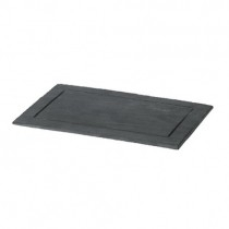 Rectangular Natural Slate Plates with Groove