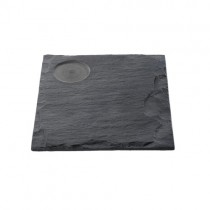 Square Natural Slate Food Presentation Platters