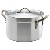 Genware Heavy Duty Aluminium Stewpan with Lid