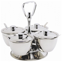 Stainless Steel Relish Servers