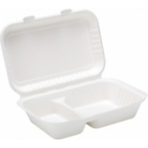 Bagasse Burger And Meal Boxes
