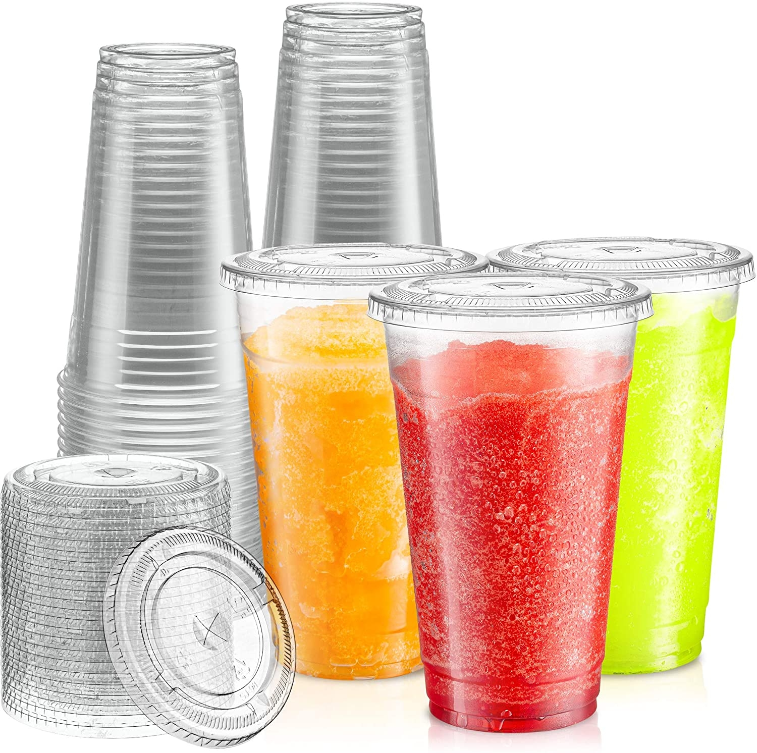 Smoothie Cups & Lids