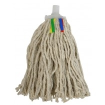 Traditional Cotton Mop Head Coloured Tags