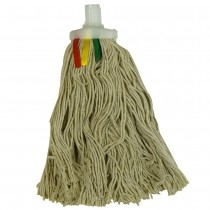 Traditional Twine Mop Head Coloured Tags