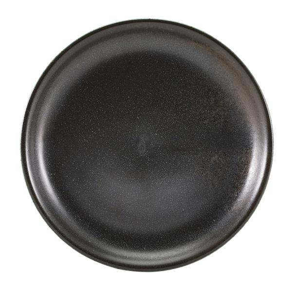Terra Porcelain Plates Black