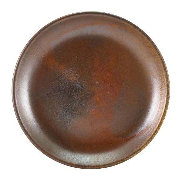 Terra Porcelain Plates Rustic Copper