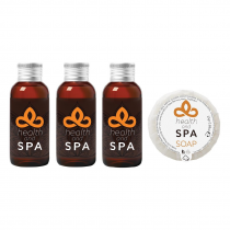 Health & Spa Range Complimentary Hotel Toiletries
