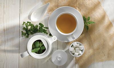 Art de Cuisine Menu Porcelain Beverage