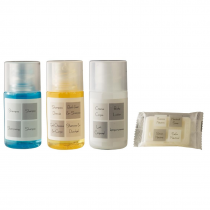 Neutra Range Complimentary Hotel Toiletries