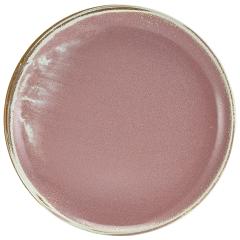 Terra Porcelain Plates Rose