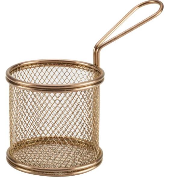Copper Mini Baskets