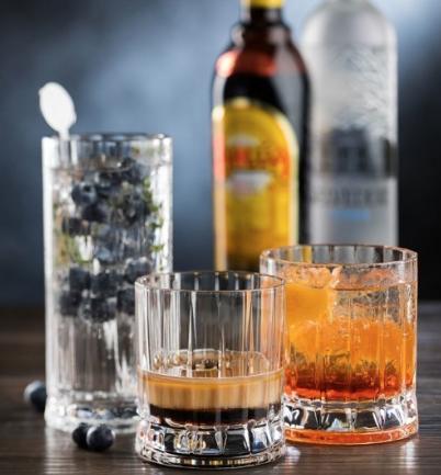 Gin Hiball Glasses