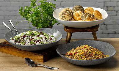 Churchill Alchemy Melamine Buffet Bowls