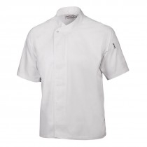Coolvent White Short Sleeve Chef Jackets