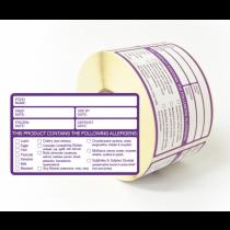 Allergen Signs & Labels