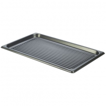 Genware Aluminium Ridged Baking Sheet