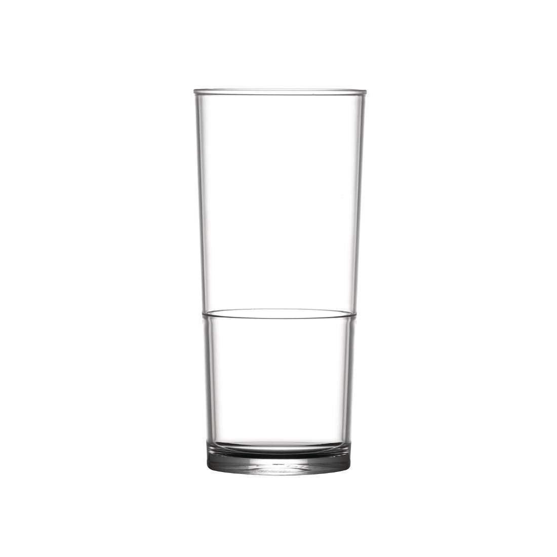 Plastic Stackable Glasses