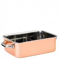 Copper Presentation Roasting Dish