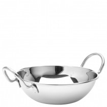 Stainless Steel Balti Dish with Handles