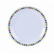 Genware Coloured Circles Tableware