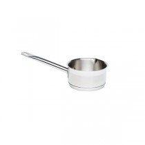 Genware Stainless Steel Milk Pan with Pouring Lip