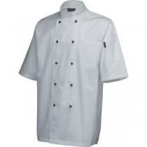 Superior Chef White Short Sleeve Jackets