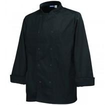 Genware Chef Black Long Sleeve Jackets