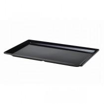 Genware Black Melamine Platters