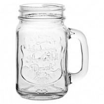 Glass Cans & Drinking Jars