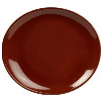 Terra Stoneware Plates Red