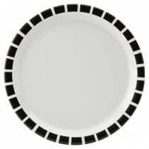 Carlisle Kingline Black Tile Melamine Tableware