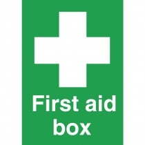 Self Adhesive First Aid Notices
