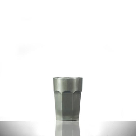 Elite Remedy Polycarbonate Shot Glasses Silver CE 25ml